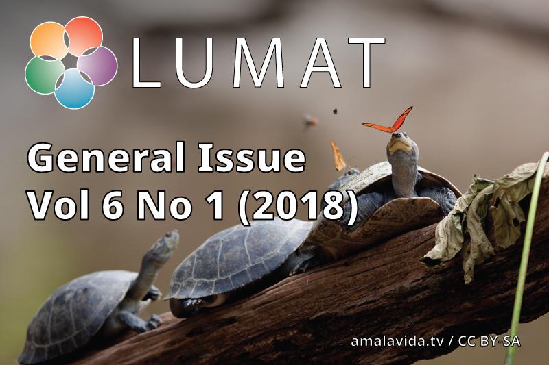 LUMAT General Issue 2018 cover | amalavida.tv / CC BY-SA