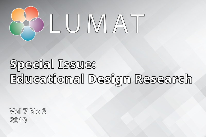 LUMAT Special Issue cover image