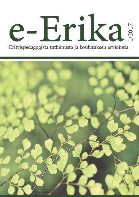 Näytä Nro 1 (2017): e-Erika 1/2017